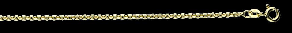 Armband Anker rund Kettenbreite 2.4mm