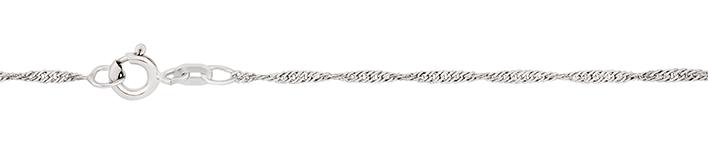 Collier Singapur Kettenbreite 1.4mm
