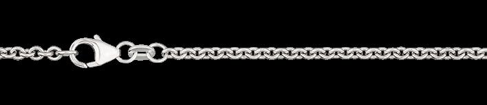 Collier Anker rund Kettenbreite 2.4mm