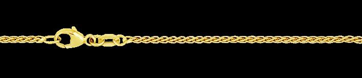 Necklet Wheat chain chain width 1.7mm