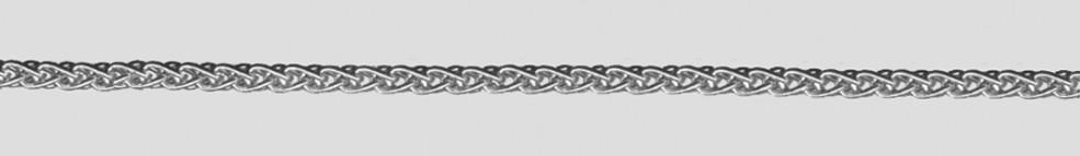 Armband Zopf Kettenbreite 2.5mm