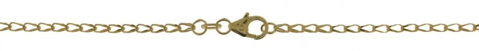 Bracelet Wheat chain chain width 1.7mm