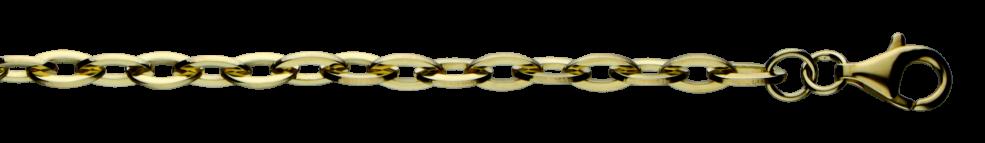 Collier Anker weit Kettenbreite 3.8mm