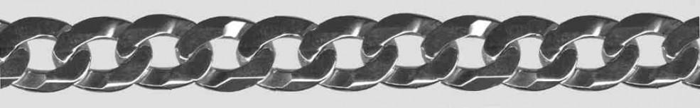 Bracelet Curb Chain chain width 10.6mm