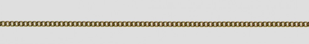Necklet Curb chain chain width 1.7mm