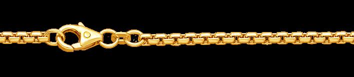 Necklet Round box chain chain width 2.7mm