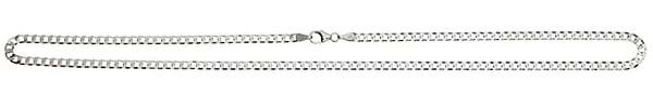 Necklet Curb Chain chain width 3.2mm