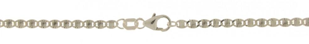 Bracelet Tiger's eye chain chain width 2.7mm