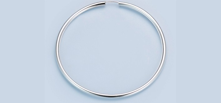 Earring ear hoops 2,5 mm