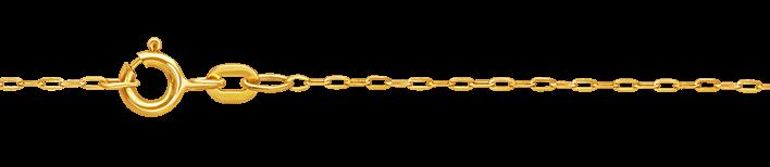 Collier Anker flach Kettenbreite 1.1mm