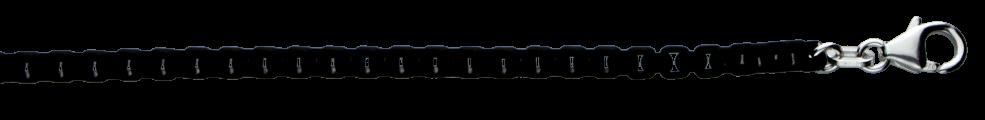 Bracelet Round box chain chain width 3.7mm