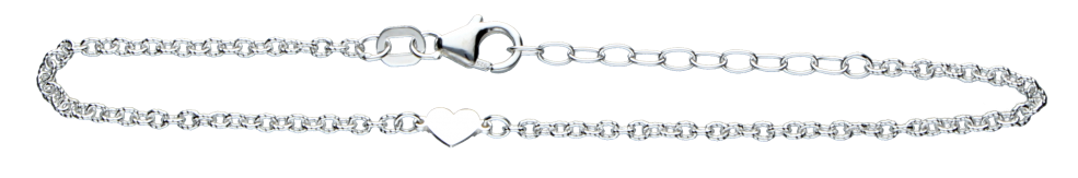 Bracelet Anchor grooved