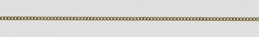 Necklet Curb chain chain width 1.4mm