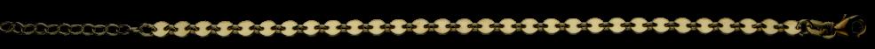 Bracelet Plate chain