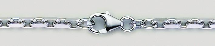 Necklet Anchor diamond cut chain width 3mm
