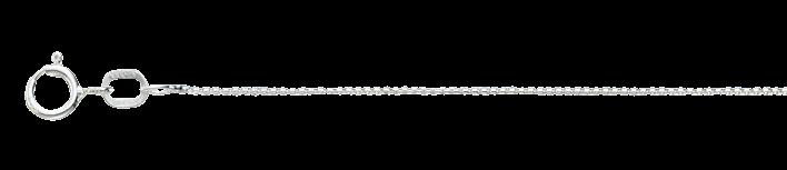 Necklet Round box chain chain width 0.8mm