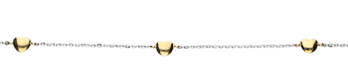 Bracelet Anchor diamond cut