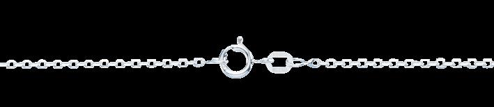 Bracelet Anchor diamond cut chain width 1.7mm