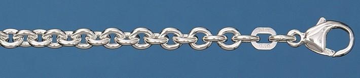 Collier Anker rund Kettenbreite 4mm