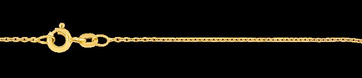 Necklet Anchor diamond cut chain width 1.15mm