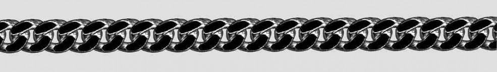 Bracelet Curb chain chain width 6mm