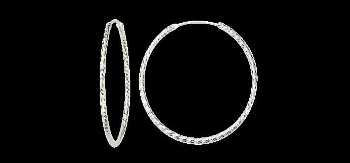 Earring ear hoops 1,8 mm