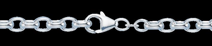 Bracelet Belcher chain chain width 5.3mm