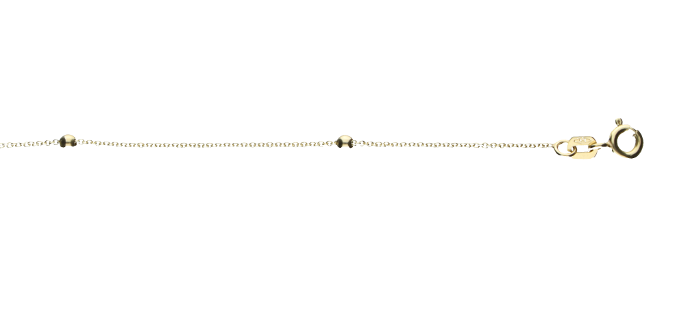 Necklet incl.loop Anchor round