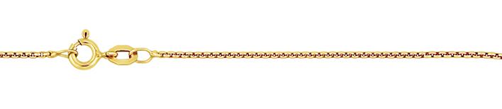 Necklet Round box chain chain width 1.2mm