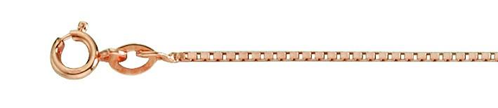 Necklet Box chain chain width 1.2mm