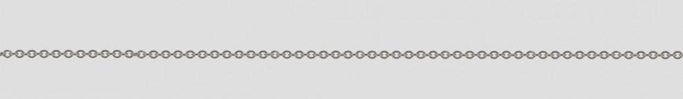 Necklet Anchor round chain width 1.1mm