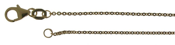 Necklet Anchor flat chain width 1.2mm