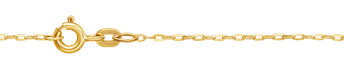Necklet Anchor flat chain width 1.3mm