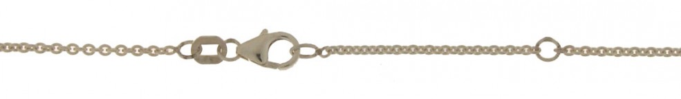 Necklet incl.loop Anchor round chain width 1.5mm
