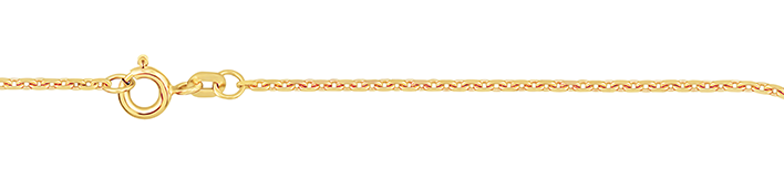 Collier Anker diamantiert Kettenbreite 1.3mm