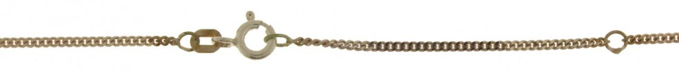 Necklet incl.loop Curb chain chain width 1.6mm