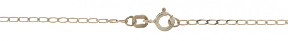 Necklet Curb chain wide