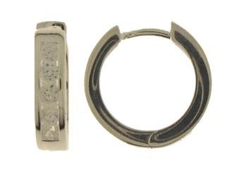 Earring ear hoops 3,7 mm