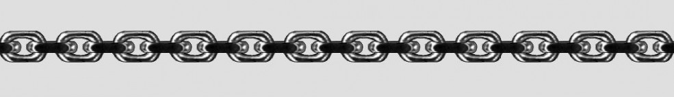 Necklet Anchor diamond cut chain width 3.8mm