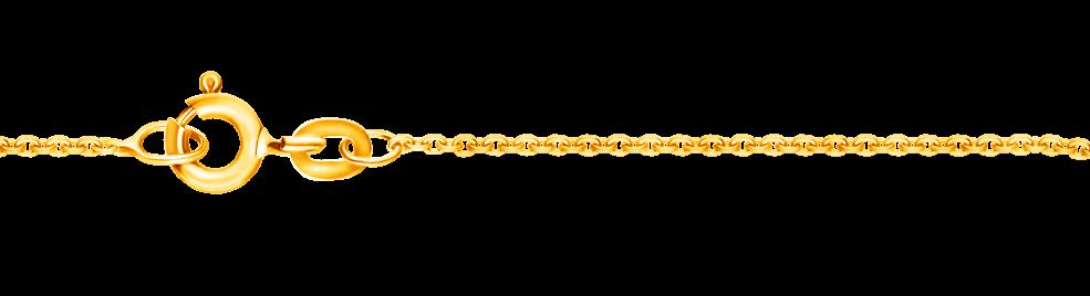 Necklet Anchor diamond cut chain width 1.05mm