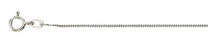 Necklet Curb chain chain width 1.1mm