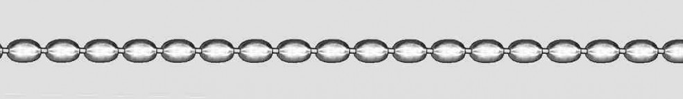 Necklet Olive chain chain width 2.9mm