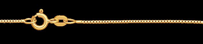 Necklet Box chain chain width 0.8mm
