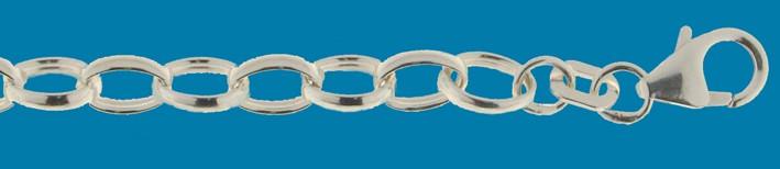 Bracelet Belcher chain chain width 5mm