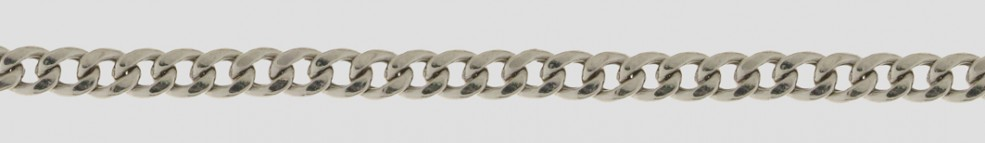 Necklet Curb chain hollow chain width 4.8mm