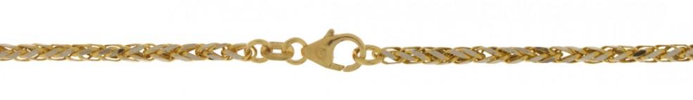 Bracelet Wheat chain hollow chain width 2.1mm