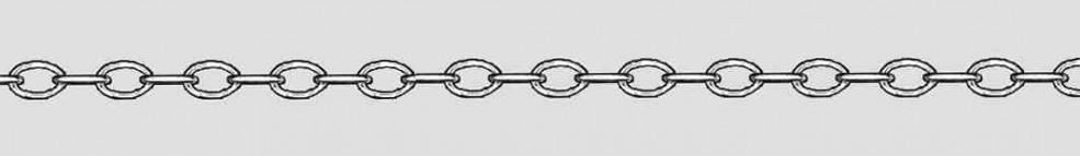 Bracelet Anchor wide chain width 3.5mm