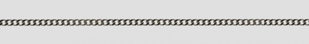 Necklet incl.loop Curb chain chain width 2.1mm